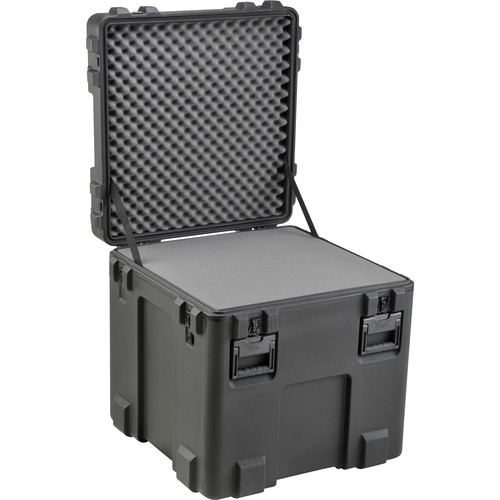 SKB 3R2727-27B-L Roto-Molded Mil-Standard Utility Case with Layered Foam Interior