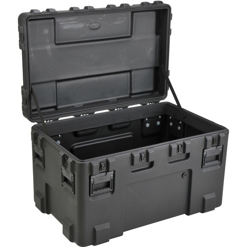 SKB 3R4024-24B-E Roto-Molded Mil-Standard Utility Case with Empty Interior