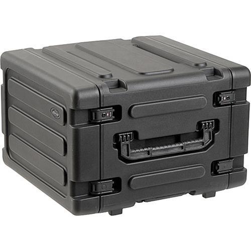 """SKB 3SKB-R06U20W 20"""" Deep 6U Roto Shock Mount Rolling Rack Case"""
