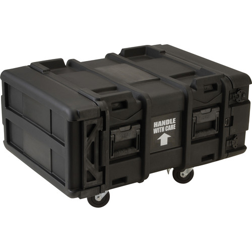 "SKB Deep 24"" 4U Roto Shock Rack"