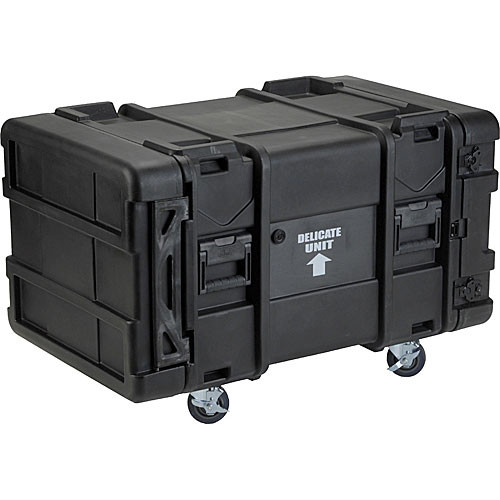 "SKB 3SKB-R908U28 28"" Deep 8U Roto Shock Rack Case (Black)"