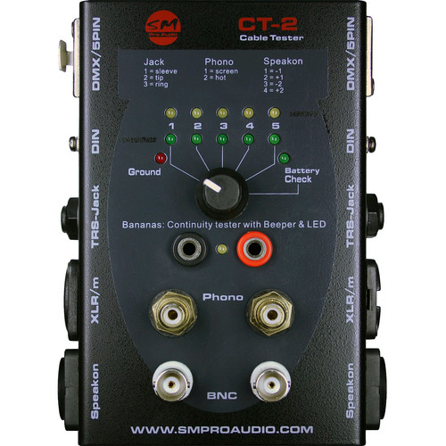 SM Pro Audio CT-2 Cable Tester