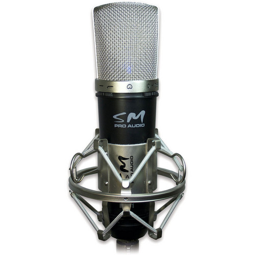 SM Pro Audio MC01 Large Diaphragm Condenser Microphone
