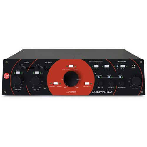 SM Pro Audio M-Patch 4M - Passive Monitor Controller with Talkback