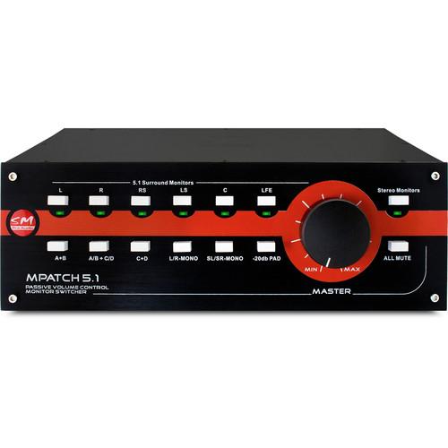 SM Pro Audio MPatch 5.1 Passive Surround Monitor Controller