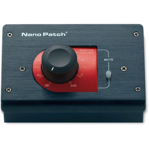 SM Pro Audio Nano Patch+ Passive Stereo Volume Controller (Black)