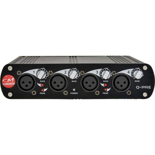 SM Pro Audio Q-PRE - Microphone Preamp