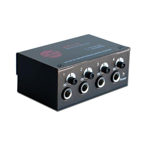 SM Pro Audio XPH4 4-Channel Stereo/Mono Headphone Amplifier