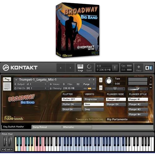 SONiVOX Broadway Big Band Virtual Instrument (Kontakt Edition)
