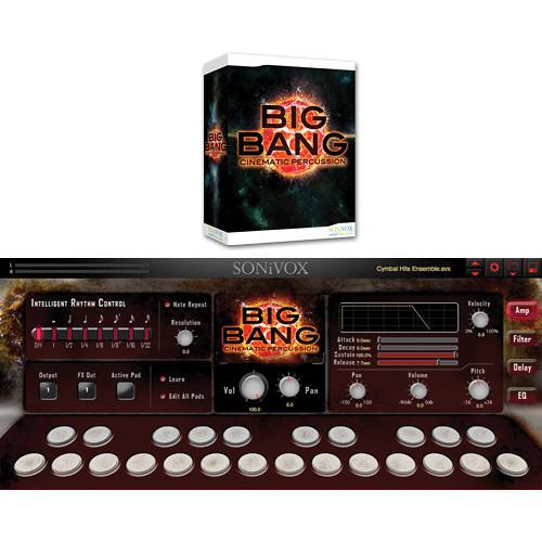 SONiVOX BIG BANG Universal Drums Virtual Instrument