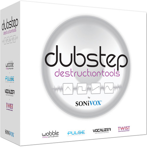 SONiVOX Dubstep Destruction Tools Virtual Instrument Collection
