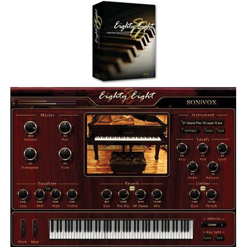 SONiVOX Eighty Eight Grand Piano Virtual Instrument