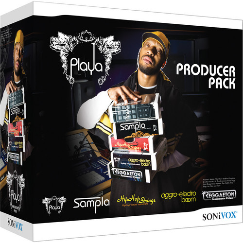 SONiVOX Playa Producer Pack Virtual Instrument Collection