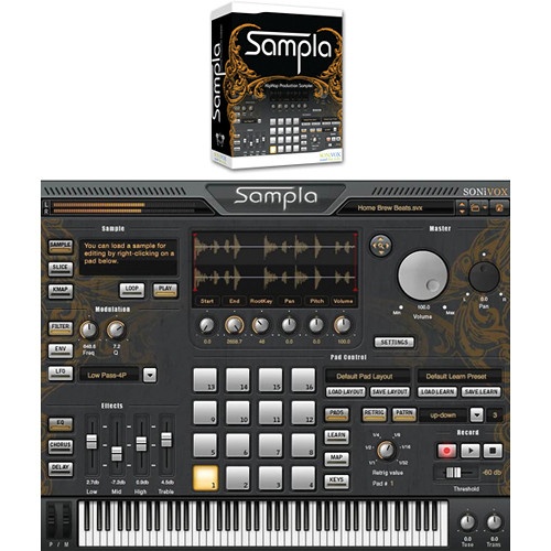 SONiVOX Sampla Hip-Hop Production Virtual Instrument
