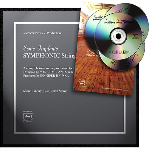 SONiVOX Sample DVD: Symphonic String Collection (EXS24)