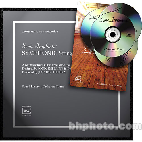 SONiVOX Sample DVD: Symphonic String Collection (GigaStudio3)