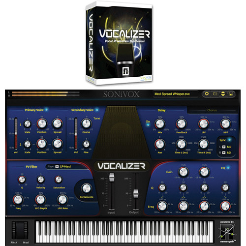 SONiVOX VOCALIZER Vocal Production Synthesizer