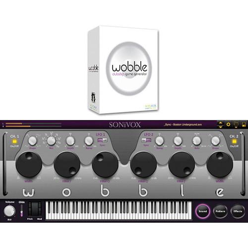 SONiVOX WOBBLE Dubstep Grime Generator Virtual Instrument