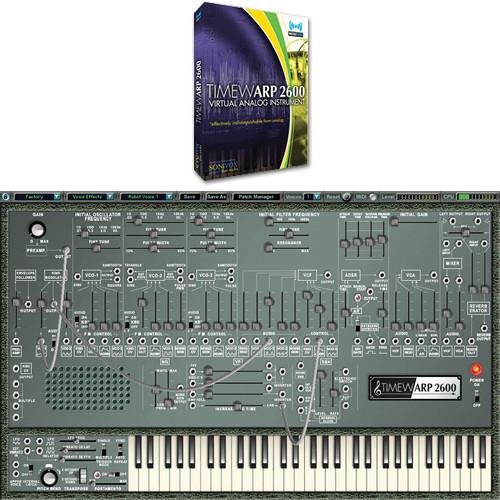 SONiVOX TimewARP 2600 Virtual Synthesizer