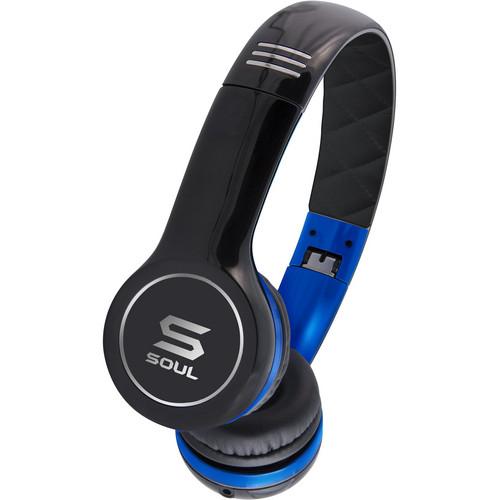 Soul by Ludacris SL100 Ultra Dynamic In-Ear Headphones (Blue & Black)