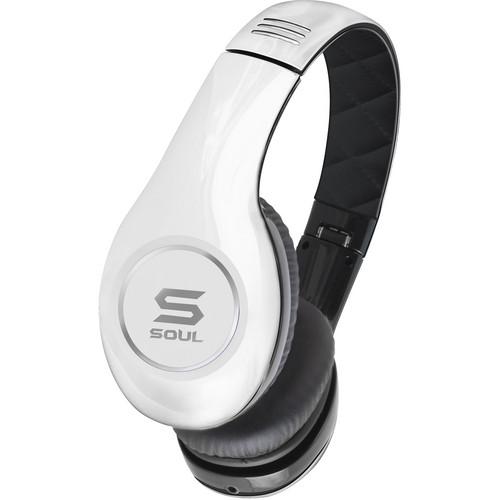 Soul by Ludacris SL150 Pro Hi-Definition On-Ear Headphones (Black & White)