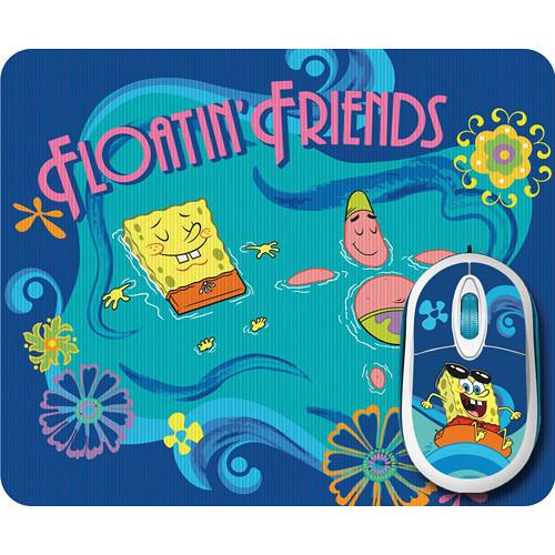 SpongeBob SpongeBob SquarePants Mouse and Mouse Pad Bundle