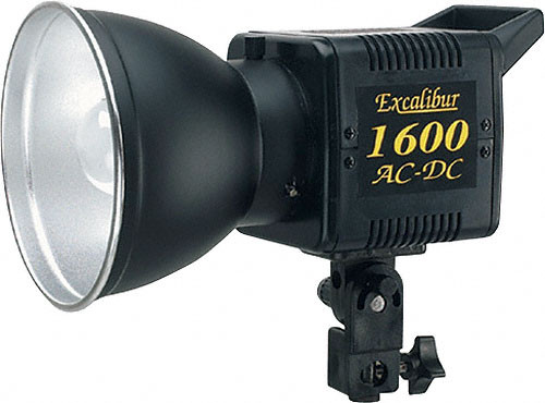 SP Studio Systems Basic Excalibur AC/DC 1600 Monolight Kit (120V AC/12V DC)