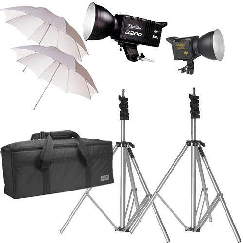 SP Studio Systems Excalibur 2-Monolight Lighting Kit