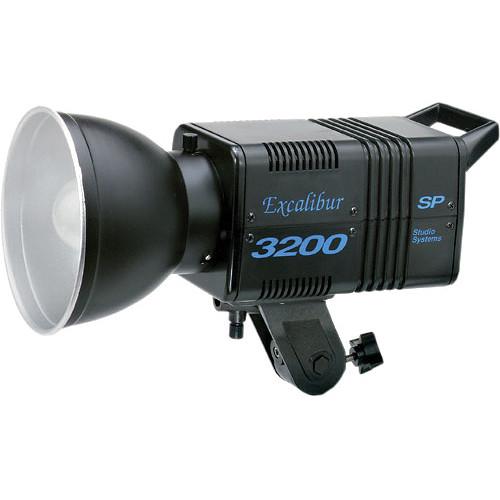 SP Studio Systems Excalibur SP3200 3 Light Kit (120VAC)