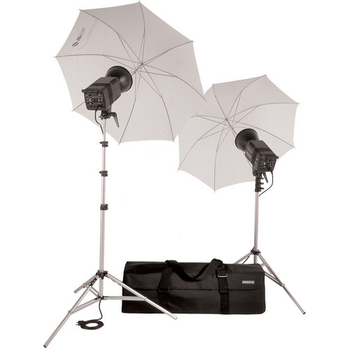 SP Studio Systems Excalibur 1600 2-Monolight Kit with Case (120V)