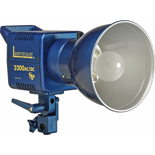 SP Studio Systems Excalibur 3200 Lancerlight AC/DC 320 Ws Monolight (120VAC/12VDC)