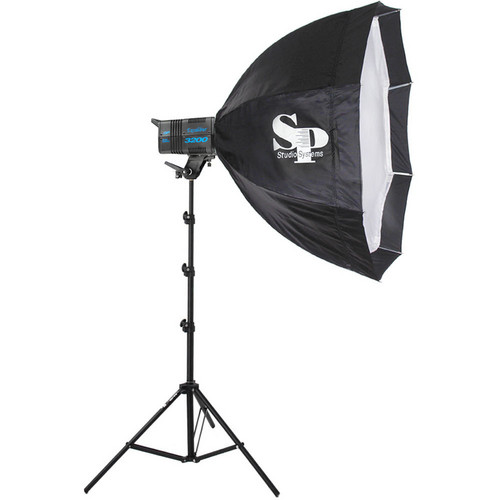 SP Studio Systems Excalibur 1600 1 Light Kit (120V)