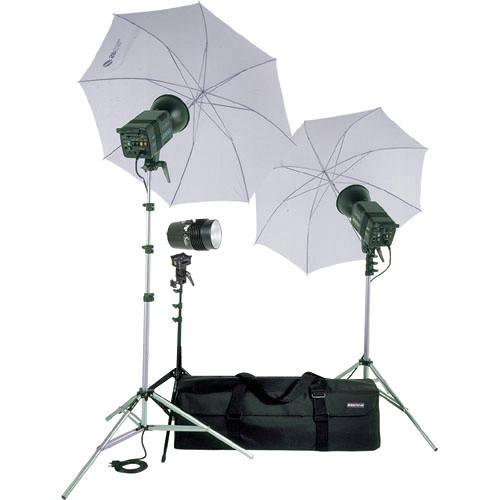 SP Studio Systems Excalibur Pro 3200 3-Light Lighting Kit