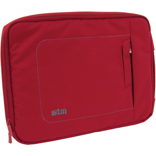 """STM Jacket Laptop Sleeve for 13"""" Screens (Small, Berry)"""