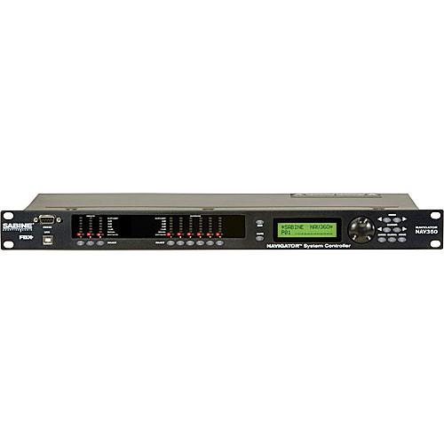 Sabine Navigator NAV360 - Multi-FunctionDSP System NAV360 ...