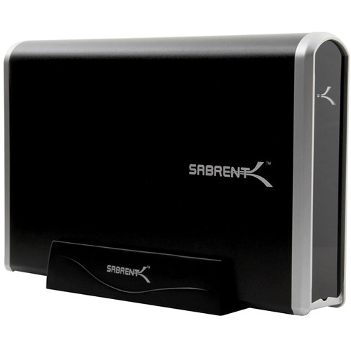 "Sabrent EC-3US35 USB 3.0 to 3.5"" SATA Aluminum Hard Drive Enclosure"