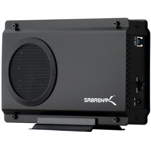 """Sabrent EC-7F83 USB 3.0 to 3.5"""" SATA Aluminum Hard Drive Enclosure"""