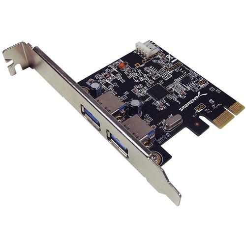 Sabrent USB 3.0 2-Port Desktop PCI Express Card