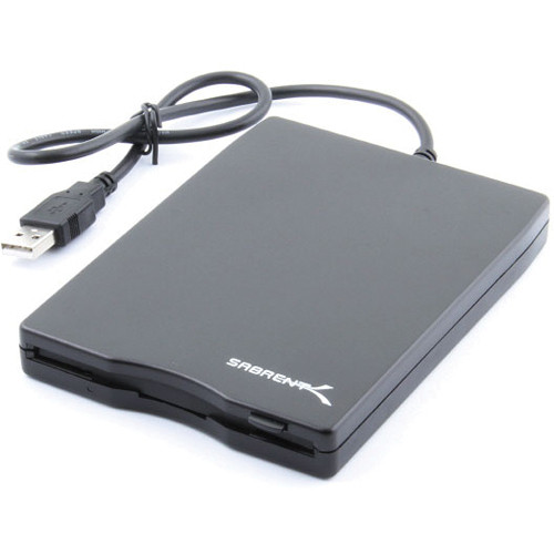 Sabrent 1.44MB External USB 2X Floppy Disk Drive