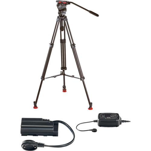 Sachtler 0372B-785 FSB-4 with ENG75-L and Sony PD/VX/HDR-FX1 Powerset Kit