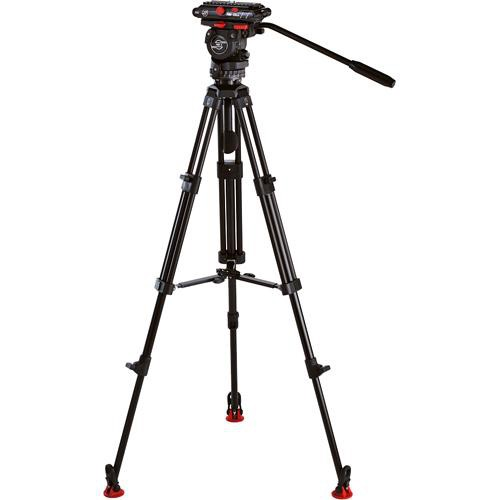 Sachtler 0373B-788 FSB-4 with ENG75-2D and Panasonic HVX/DVX/DVC Powerset Kit