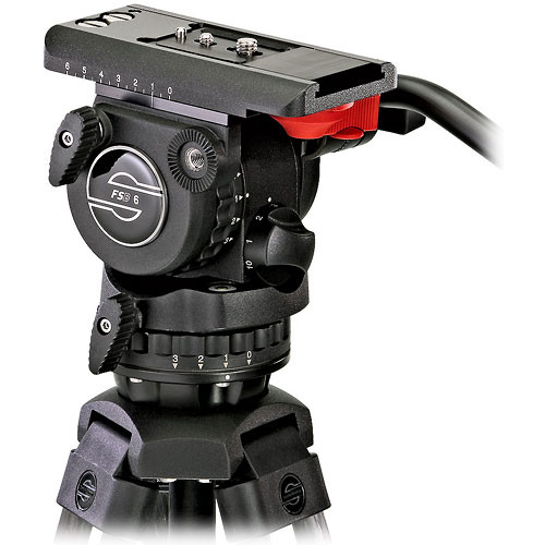 Sachtler 0473B-785 FSB-6 with ENG75-2D and Sony PD/VX/HDR Powerset Kit