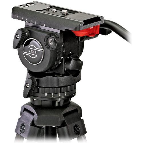 Sachtler FSB-6 Fluid Head with Speed Lock Tripod and FSB Battery Kit