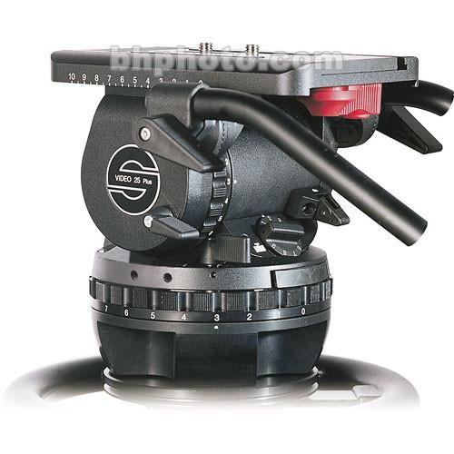 Sachtler VIDEO 25 PLUS FB Fluid Head (Flat Base)
