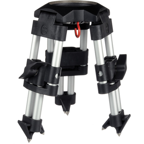 Sachtler DA-100K Short Aluminum 1-Stage Tripod Legs (100mm Bowl) - Supports 88 lbs