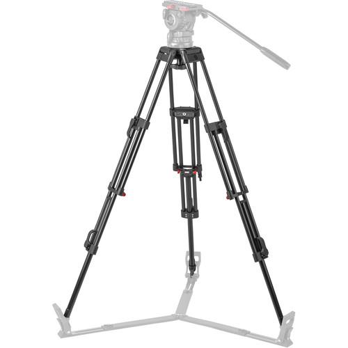Sachtler DA-100 ENG 2D Aluminum 2-Stage Tripod Legs (100mm Bowl) - Supports 77 lbs