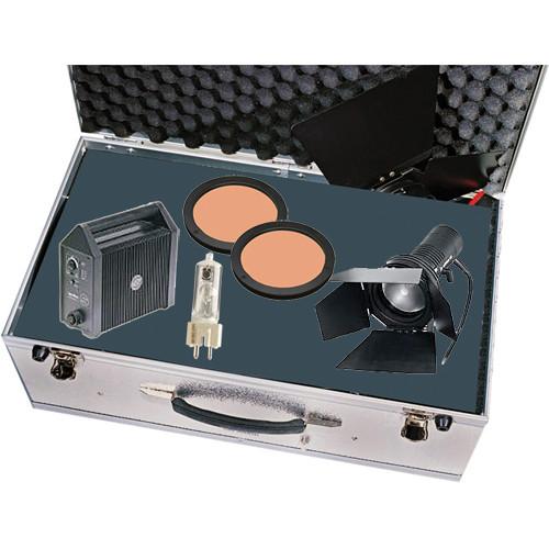 Sachtler Reporter 200D 200W HMI Focusing Flood Kit (90-245V)