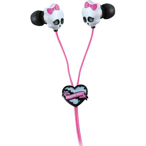 Sakar Monster High Skull Earbuds