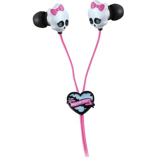 Sakar Monster High Skull Earbuds