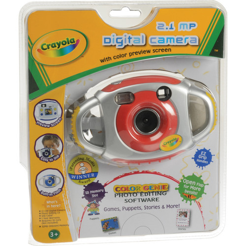 Sakar Crayola 2.1MP Digital Camera (Red)